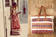 These Free People tapestry bags are seriously calling my name . . .