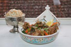 FOOD BLOG: JAHŇACÍ TAJINE S ARABSKOU RYŽOU