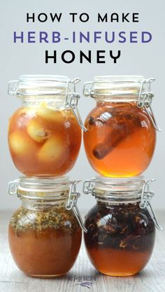 How to Make Infused Honey 4 quick and easy recipes for delicious infused honey. Makes a great gift! Best Nutrition Food, Health And Nutrition, Proper Nutrition, Nutrition Chart, Nutrition Articles, Nutrition Guide, Fitness Nutrition, Health Diet, Honey Recipes