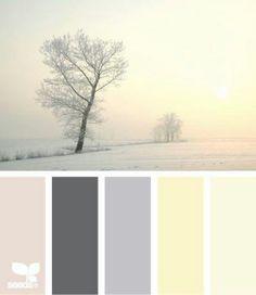 Winter sun rise Palette