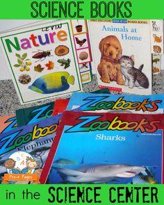 Science Books for Preschool