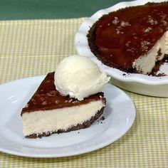 Carla Hall's Chocolate Peanut Butter Pie Recipe #thechew