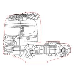 Optimus Prime bot coloring pages for kids, printable free