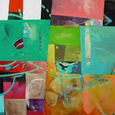 nick lamia plastolux modern art design painting