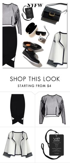 """""""What to Pack: NYFW"""" by oliverab ❤ liked on Polyvore featuring Boohoo, Yves Saint Laurent, Chicwish, Garance Doré, NYFW, contest and contestentry"""