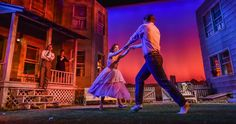 """Lighting Designer Jimmy Lawlor shares the vibrant sunrise and sunset color palettes he used in his design for a production of """"Picnic"""" at James Madison University."""