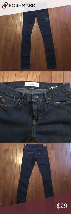 Abercrombie stretch skinny jeans-Back2School deal! Super skinny jeans from Abercrombie, style is called cute stretch. Size 16 in little girls. Brand new with tags, no flaws, perfect condition! Abercrombie & Fitch Bottoms Jeans