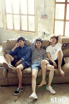 Chen, Suho & Baekhyun