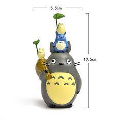 Jardín de hadas accesorios miniatura pequeño Totoro por RukawaBeads