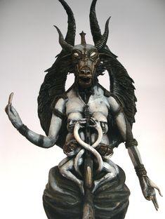 H.R.Giger Baphomet Sculpture 2 by ~Azhurath on deviantART