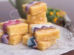 Blondie de Chocolate Branco (Brownie) | Receitas de Minuto - A Solução prática para o seu dia-a-dia!