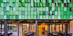 Check out some interesting takes on how Pantone's Color of the Year, Greenery can be applied to architecture.