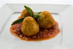 Quick And Easy To Make Main Course Recipe: Risotto Croquettes With Fontina