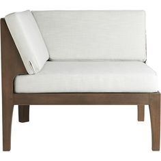 only 1 needed java corner chair  | CB2