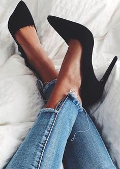 a pair of gorgeous heels