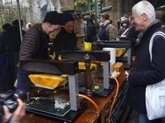 Raclette at Borough Food Market