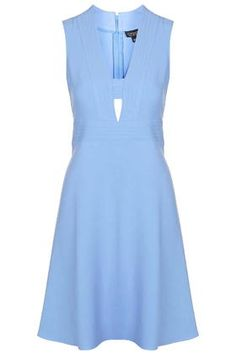 Cut-Out Tab Front Dress
