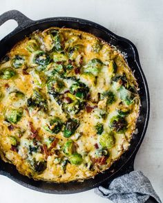 10 Low-Carb Casseroles That Are Loaded with Fresh Veggies Loaded Potato Casserole, Asparagus Casserole, Broccoli Bake, Vegetable Casserole, Casserole Recipes, Brussel Sprout Casserole, Cauliflower Casserole, Cheesy Spaghetti Squash, Spaghetti Squash Casserole