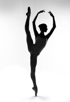 Sublime silhouette:Eifman Ballet's Amber Miller, photographed by Rachel Neville.