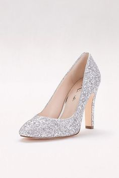 fd7fdb849a6 7 Best Prom Shoes- Silver images