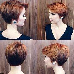 3-Short Layered Haircut