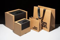 Rethinking Luxury Sustainability by Progress Packaging Ltd for Tom Dixon Food Box Packaging, Food Packaging Design, Packaging Design Inspiration, Bakery Packaging, Branding Design, Corporate Branding, Brand Identity Design, Retail Packaging, Logo Branding