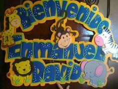 bebes en foami - Buscar con Google Ideas Para Fiestas, Classroom Decor, Baby Boy Shower, Lily, Birthday, Party, Crafts, Banners, Google