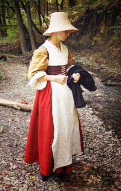Tailor's - Baska, Woman's dress, part 2.