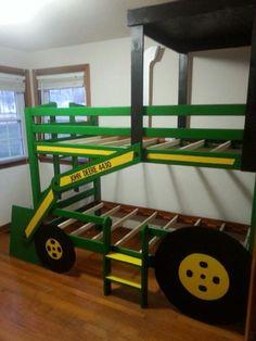chambre tracteur my little a id e jacob pinterest kinderzimmer kinderbett et traktor bett. Black Bedroom Furniture Sets. Home Design Ideas