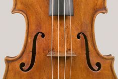 f holes, Nicola Bergonzi viola, Cremona circa 1781