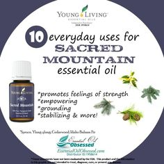 10 uses for Sacred Mountain Essential Oil™ | Essential Oil Obsessed