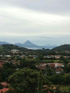 Cordillera de Guanacaste de fondo, Foto Tomada desde Cuidad Quesada, Alajuela, Costa Rica
