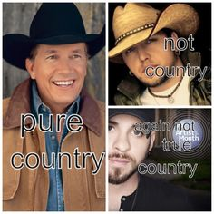 There is no comparing George Strait a real country man, to these two southern punk cissy boys who say they're country ! No way is Jason Aldean and Brantley Gilbert pure country !!
