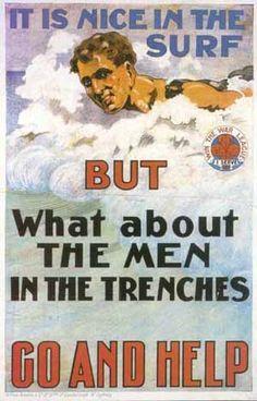 WW! Australian recruiting poster