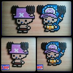 Chopper One Piece hama beads by Pix'L'and