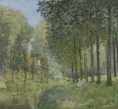 Alfred Sisley (1839-1899) Descanso a la orilla del río, 1878 Óleo sobre lienzo, 81 x 74 cm Museo d'Orsay, París