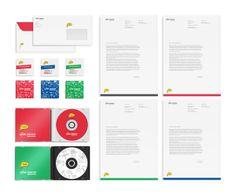 Brainwells - branding + web by Dora Klimczyk, via Behance