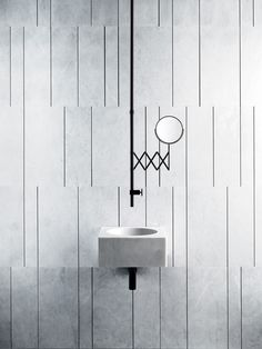 Part of our #SizeMatters feature in September 2016 issue. Wall-hung basin from Fantini.it #bijou #smallisbeautiful