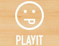 PlayIT_Event Set-Up by Jd Giada, via Behance