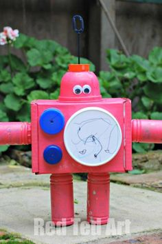 Image result for junk modelling from recycling eyfs