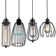 Irradiation area: Two kind of pendant lights provided. Pendant Lamp 1 Industrial Pendant Light (Bulb not included). Bulb (Bulb not included). Wire Pendant Light, Industrial Pendant Lights, Industrial Metal, Vintage Industrial, Pendant Lamp, Pendant Lighting, Chandelier, Lamp Light, Light Bulb