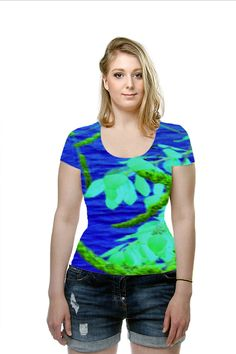 By Elena Indolfi. All Over Printed Art Fashion T-Shirt by #OArtTee