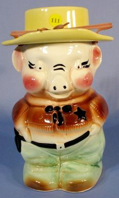 Grew up with this cookie jar sitting on the kitchen counter ; )