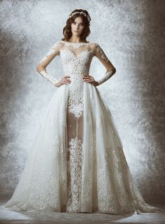 Dimitra's Bridal offers the finest selection of Zuhair Murad wedding gowns. We also offer an extensive collection of sample gowns at exceptional savings.