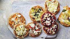 BBC Food - Recipes - Healthy mini pizzas