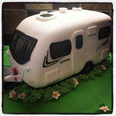 Touring Caravan Cake - Lunar Ultima