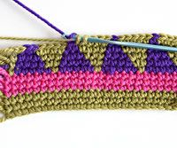 Pretty Patterned Crocheted Tote