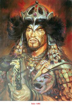 Kertai Zalán rajza (Buda) Old Warrior, Fantasy Warrior, Mongolia, Hungarian Tattoo, Hungary History, Heart Of Europe, Historical Pictures, Art History, Samurai