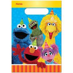 Sesame Street Treat Bags (8)
