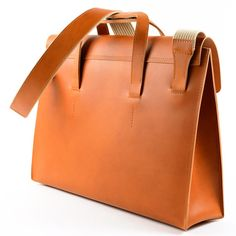 FREE FedEX shipping Heritage satchel leather briefcase